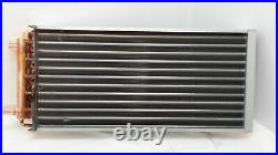 12x21 Water to Air Heat Exchanger 1 Copper Ports With Install Kit
