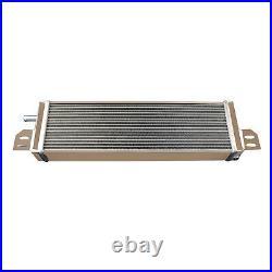 2 Row Aluminum Air to Water Intercooler Liquid Heat Exchanger High Per AU PRO