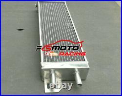 21x6.6 Air to Water Intercooler Turbo Aluminum Liquid Heat Exchanger Universal