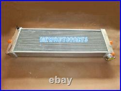 24x8x2.5 Air to Water Intercooler Heat Exchanger Radiator + Fans universal