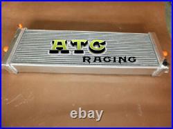 24x8x2.5 Aluminum Air to Water Intercooler Heat Exchanger For Cobalt Mustang