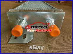 28x7x3 Air to Water Intercooler Aluminum Liquid Heat Exchanger Universal +FAN