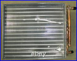 41410152 Carrier Hot Water Coil 1 Row 20 x 17-1/2 Water to Air Heat Exchanger