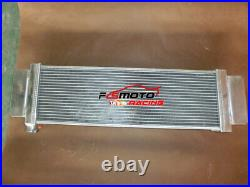 65X610X205mm Heat Exchanger Air to Water Aluminum Intercooler For Cobalt Mustang