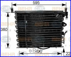 8FC 351 035-161 HELLA Condenser air conditioning