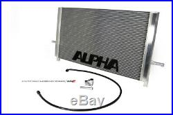 AMS Alpha Center Heat Exchanger For 2013-2019 Mercedes-Benz M133 45 Series AMG