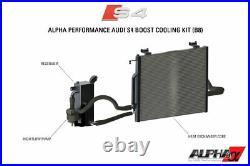 AMS Alpha Performance Supercharger Cooler System For 2008-2012 Audi B8 S4