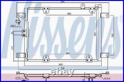 Ac Air Condenser Radiator Nissens Nis 940578