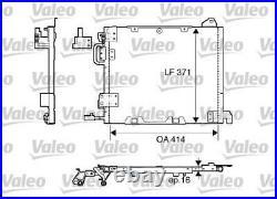 Ac Air Condenser Radiator Valeo Val817506