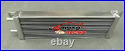 Air to Water Intercooler Aluminum Liquid Heat Exchanger Universal 21x6.6