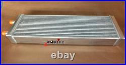 Air to Water Intercooler Aluminum Liquid Heat Exchanger universal & FANS