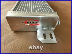 Air to Water Intercooler +FAN Aluminum Liquid Heat Exchanger universal 28x7x3