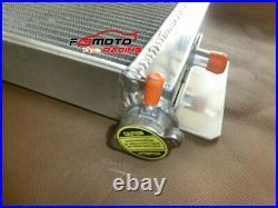 Air to Water Intercooler + FAN Heat Exchanger For Cobalt Mustang 24x8x2.5