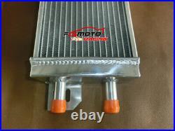 Air to Water Intercooler+fan Aluminum Liquid Heat Exchanger universal