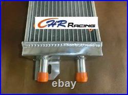 Air to Water Race Intercooler Aluminum Liquid Heat Exchanger universal