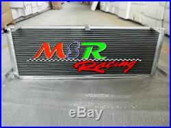 Air to water aluminum intercooler heat exchanger TOYOTA MR2 SW20 new