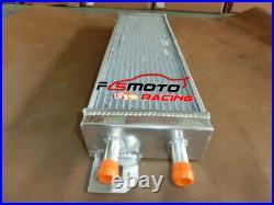Air to water aluminum intercooler liquid heat exchanger