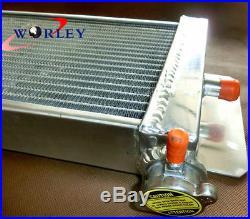Air to water aluminum intercooler liquid heat exchanger for Holden Landcruiser