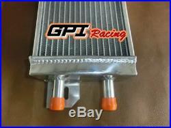 Air to water aluminum intercooler liquid heat exchanger new