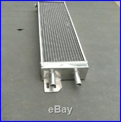 Air to water aluminum intercooler liquid heat exchanger &two FANS