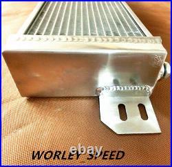 Aluminum Air to Water Intercooler Liquid Heat Exchanger 21 x 6 x 2.5