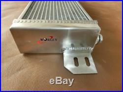 Aluminum Air to Water Intercooler Turbo Liquid Heat Exchanger Universal+FANS
