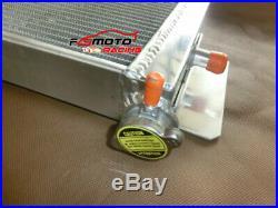 Aluminum Heat Exchanger Air to Water Intercooler+Fan Cobalt Mustang 24x8x2.5
