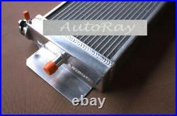 Aluminum Heat Exchanger Air to Water Intercooler For Cobalt Mustang 24x8x2.5