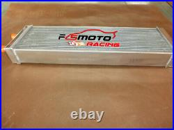 Aluminum Heat Exchanger Air to Water Intercooler Radiator with fans Universal