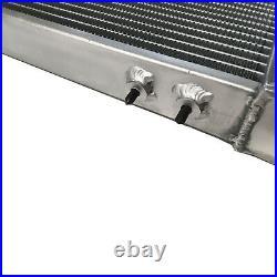 Aluminum Radiator 2 Row Universal Air-Liquid Water Performance Heat Exchanger