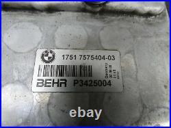 BMW 7er F01 750i 5er F10 F11 550i Ladeluftkühler Zylinder 1-4 rechts 7575404 Hi2