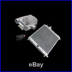 CXRacing Aluminum Water to Air Intercooler + Heat Exchanger + Pump