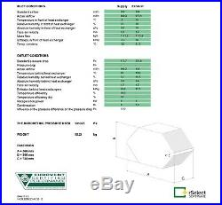 CounterFlow heat recovery ventilation air exchanger 200 m3, efficiency 95%