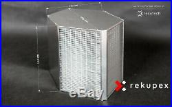 CounterFlow heat recovery ventilation air exchanger 650 m3, recuperator eff. 96%