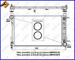 Der Heizkörper, Die Motorkühlung Für Mercedes Benz C Class T Model S203 M 111