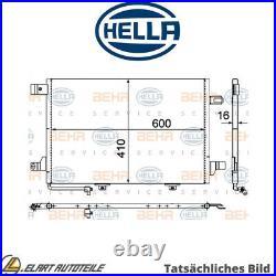 Der Kondensator, Die Klimaanlage Für Mercedes Benz A Class W169 M 266 940 Hella