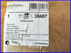 Febi bilstein 38487 Innenraumgebläse Heizung für BMW 3er E46 Limo Coupe Touring