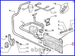 Fits Fiat Ducato Peugeot Boxer Citroen Relay Air Con Condenser 94-06 1312857080