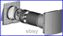 Fresh Air Heat Exchanger Wall Vent MEnV180 Pro with Remote Control 3 Levels