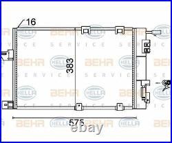 HELLA Condenser air conditioning 8FC 351 301-244