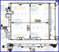 HELLA Kondensator Klimaanlage Klimakondensator Klimakühler 8FC 351 301-754