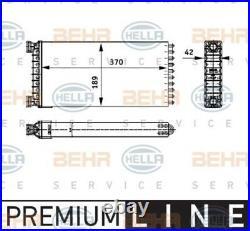 HELLA Wärmetauscher Heizungskühler Innenraumheizung 8FH 351 312-551