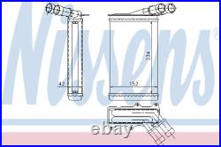 Heater Matrix Core 71156 CITROEN BERLINGO Box 1.6 HDi 90 LHD