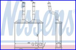 Heater Matrix Core 72634 OPEL CORSA B 1.5 D 1.6 GSI 16V i 1.7 LHD