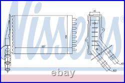 Heater Matrix Core 73374 RENAULT CLIO II 1.9 dTi 2.0 16V SPORT 3.0 V6 LHD
