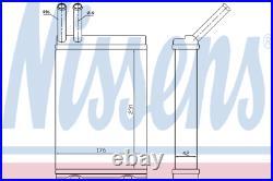 Heater Matrix Core 73642 VOLVO 940 2.4 TD Intercooler Turbo Diesel II 2.0 LHD
