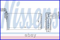Heater Matrix Core 73941 VW LT 28-35 II Bus 2.3 2.5 SDI TDI 2.8 LHD