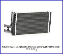 Heater Matrix Core 73972 VW SHARAN 2.8 V6 24V 4motion VR6 Syncro LHD