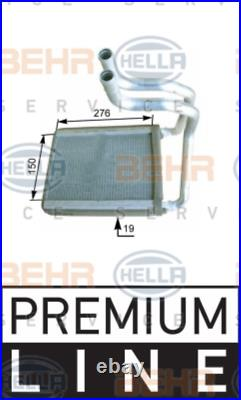 Heater Matrix Core KIA SPORTAGE 2.0 16V 4WD CRDi i 2.7 V6 8FH351315
