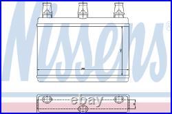 Heater Matrix Core LHD 70522 NISSENS NEW Radiator